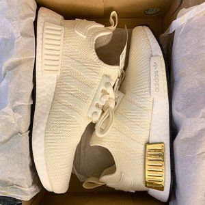 adidas NMD_R1 SHOES - Off White / Gold Metallic